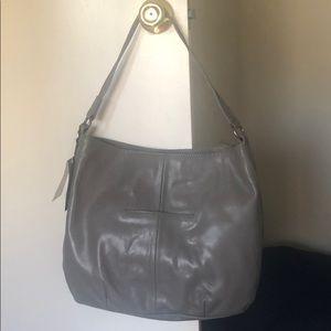 The Sak Bags - the Sak Gray Studded Leather Hobo Handbag w/ tags